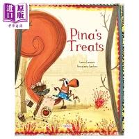 【中商原版】Anna-Laura Cantone:Pina'S Treats 松鼠彼纳的零食 英文原版 进口图书 亲子故