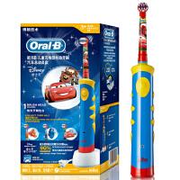 【当当自营】博朗(Braun)欧乐B D10儿童阶段性充电式电动牙刷 汽车总动员款 iBrush kid