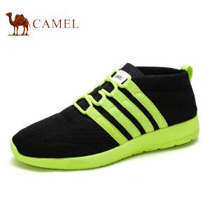 camel骆驼男鞋 春季新款网布透气运动鞋 情侣款 休闲鞋
