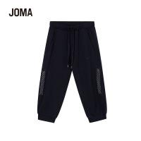 JOMA荷马针织七分裤女宽松系带运动休闲裤满200减40