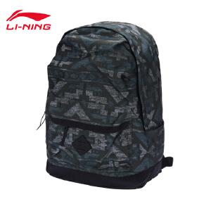 李宁双肩包男包女包运动生活系列背包书包运动包ABSM179