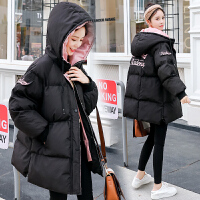孕后期冬装加厚棉袄冬季外套孕妇中长款韩版宽松棉衣