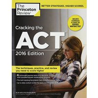 Cracking the ACT with 6 Practice Tests, 2016 Edition 破解ACT