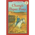 Chang's Paper Pony L3 儿童绘本分级读物 英文原版绘本I can read