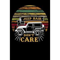 预订 jeep hair dont care: funny Lined Notebook / Diary / Jour