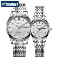 【对表特惠】 罗西尼情侣手表钨钢上套星期日历高性价比