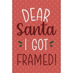 预订 Dear Santa I Got Framed: Notebook Journal Composition Bl