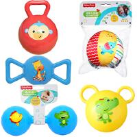 【当当自营】费雪(Fisher Price)儿童玩具球(认知球6片+摇铃球红色+哑铃球蓝色+糖果球蓝色+拉拉球黄色)