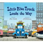 【预订】Little Blue Truck Leads the Way (lap board book)