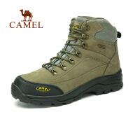 Camel骆驼 户外登山鞋 秋冬新款 头层牛皮防水防滑男女款徒步登山鞋