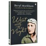 【中商原版】夜航西飞 英文原版 West with the Night Beryl Markham Virago Pr
