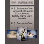 【预订】U.S. Supreme Court Transcript of Record Consolidated Sa
