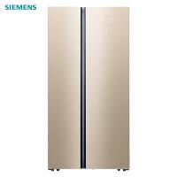 西门子(SIEMENS)BCD-502W(KA50SE30TI) 502升 超薄对开门冰箱 家用双开玻璃门冰箱 风冷无霜