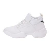 JOMA荷马女士中帮运动系带休闲鞋防滑耐磨舒适百搭小白鞋