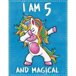 预订 Unicorn Birthday: I am 5 & Magical Unicorn birthday five