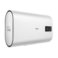 美的电热水器家用卫生间淋浴50升扁桶纤薄双胆智能遥控F50-22BT1