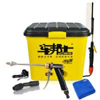 车邦士 锂电池30升电动洗车器 便携高压车载12v 28L家用洗车机