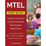 预订 MTEL General Curriculum 03 Math Subtest & Multi Subject