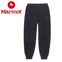 Marmot/土拨鼠2020新款男士针织透气休闲运动长卫裤