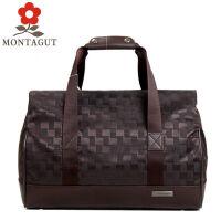 梦特娇MONTAGUT旅行包 男女旅行箱手提旅行包行李登机箱包大容量拉杆包袋耐磨防水旅行包