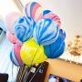 孩派 玛瑙纹12寸大理石气球 乳胶气球儿童生日婚礼派对装饰6个/包