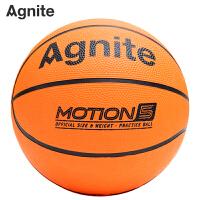 篮球儿童幼儿园安格耐特拍球橡胶室内外耐磨篮球5号3号
