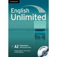 【预订】English Unlimited Elementary Self-Study Pack (Workbook