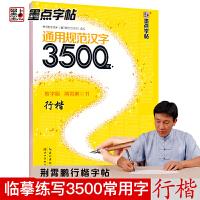 墨点字帖:钢笔硬笔书法字帖 成人速成练字帖通用规范汉字3500字行楷