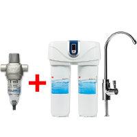 3M反冲洗前置过滤器BFS1-100+美国3M双子净智净水机DWS6000T-CN厨房直饮机超滤净水机自来水过滤器