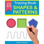 预订 Tracing Book of Shapes & Patterns: Workbook for preschoo