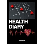预订 Health Diary: Notebook - nutrition - sports - gift - squ