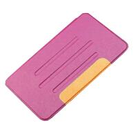 坚达 保护套/壳/ 平板电脑蚕丝纹皮套适用于华为T3 8.0英寸KOB-W09 KOB-L09 蚕丝纹皮套 钢化玻璃膜