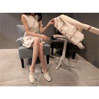 西装外套女装秋装2017新款潮套装女25-30岁韩版连衣裙休闲两件套