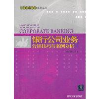 银行公司业务营销技巧与案例分析(商业银行营销系列丛书)