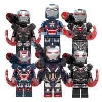 乐高复仇者钢铁联盟侠马克85战争的机器男孩益智拼装积木人仔玩具