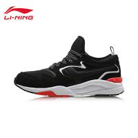 李宁休闲鞋女鞋耐磨防滑反光时尚经典低帮运动鞋AGCM186