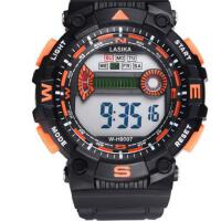 儿童手表防水大表盘多功能男孩中学生运动游泳电子表计时潮 多功能大表盘电子手表 支持礼品卡
