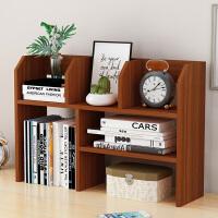 老睢坊 书架简易桌面学生家用收纳宿舍小型书柜简约现代办公书桌上置物架