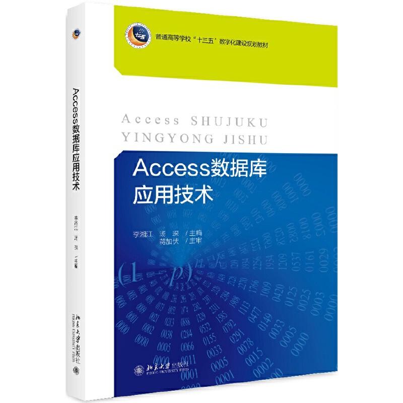 Access数据库应用技术 PDF下载