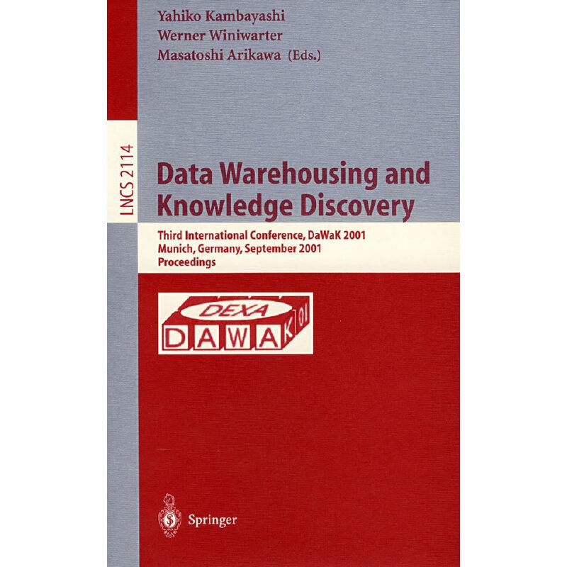 数据仓储与知识发现Data warehousing and knowledge discovery PDF下载