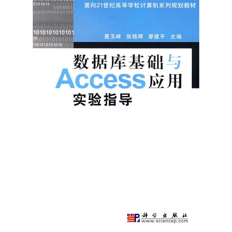数据库基础与Access应用实验指导 PDF下载